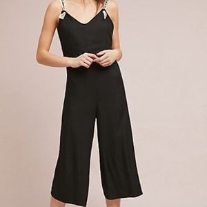 Anthropologie Farm Rio Cropped Jumpsuit